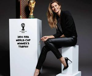 Gisele Bundchen, world cup, and fifa image