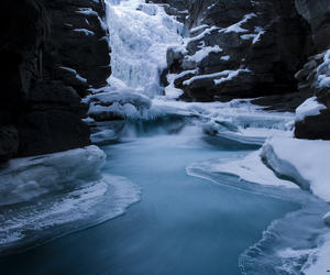 snow, winter, and ice image