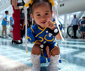 baby, cosplay, and cuteness overload image