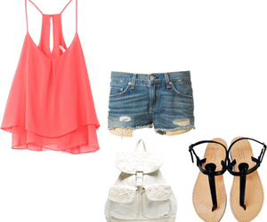 shorts, outfits, and cute image