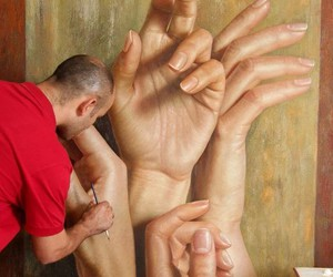 arte, beauty, and hands image