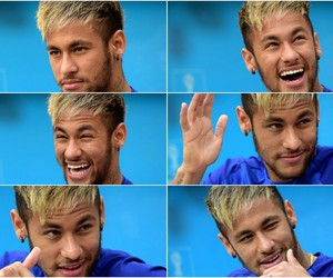 smile, neymar, and neymar jr image