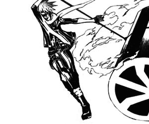manga, lavi, and d. gray man image