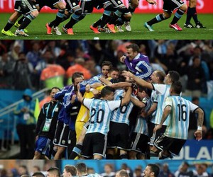 argentina, world cup 2014, and semifinal image