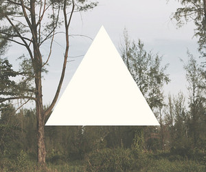 hipster, triangle, and nature image