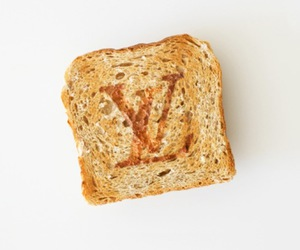 Louis Vuitton, food, and LV image