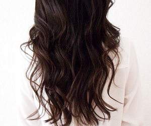 black, brown, and curly image
