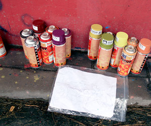 graffiti, molotow, and spray cans image