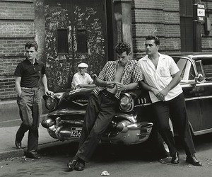 vintage, 50s, and boys image