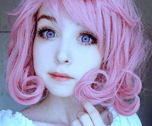 dyed hair, kofoku, and pastel goth image