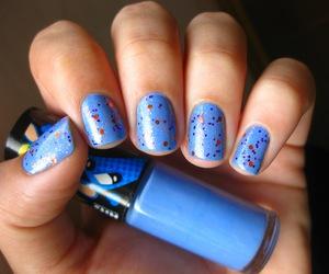 azul, blue, and glitter image
