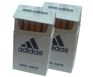 adidas, grunge, and cigarette image