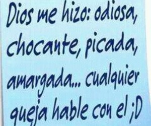 frases, dios, and chistes image