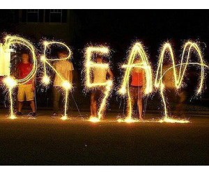 Dream, night, and sparklers image