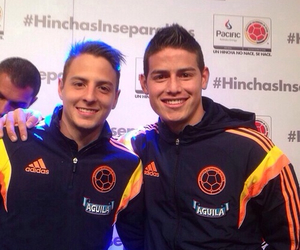 colombia, james rodriguez, and santiago arias image