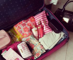 holiday, packing, and summer image