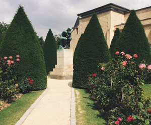 flowers, france, and garden image