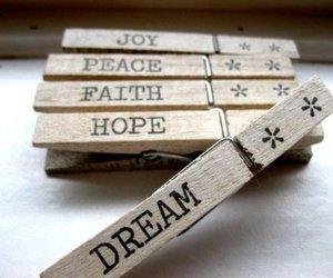 Dream, hope, and joy image