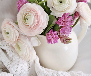 flowers, pastel, and pretty image