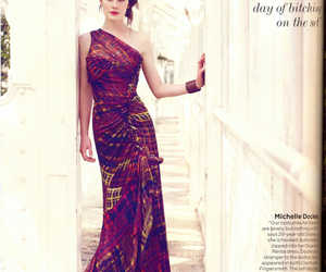 vogue uk, downton abbey, and michelle dockery image