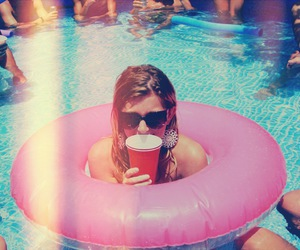 party, girl, and summer image
