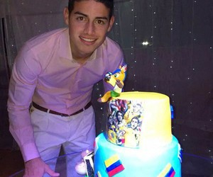 james rodriguez, colombia, and birthday image