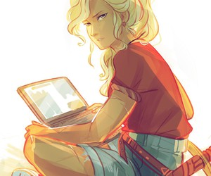 percy jackson, annabeth chase, and annabeth image