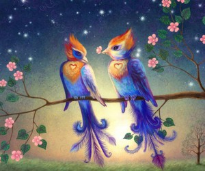 birds and love image