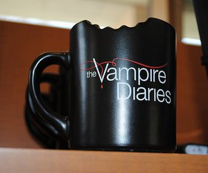 the vampire diaries, tvd, and cup image