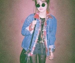 girl, grunge, and vintage image