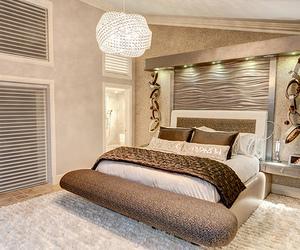 beautiful, bedroom, and luxury image