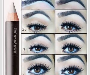 diy, makeup tutorial, and make up image