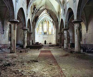 abandoned, church, and old image