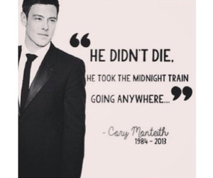 glee, cory monteith, and miss him image