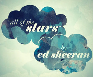 ed sheeran, the fault in our stars, and tfios image