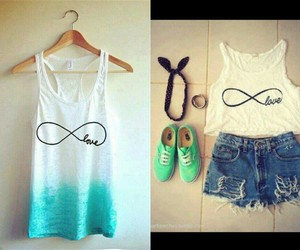 infinity, look, and outfit image