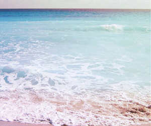 be free, beach, and blue image