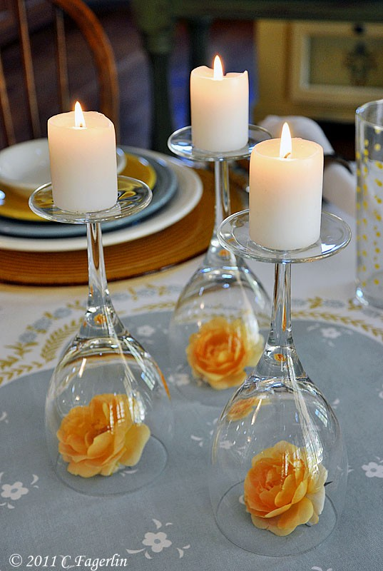 candles and wine glass image