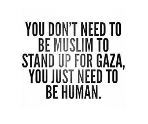 Gaza, human, and muslim image