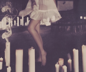 candle, dance, and magic image