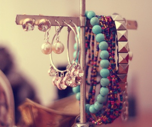 bracelet, accessories, and earrings image