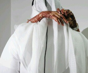 henna, muslim, and couple image