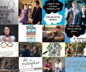 quotes, the fault in our stars, and tfios image