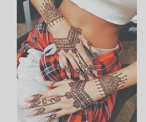 designs, henna, and patterns image