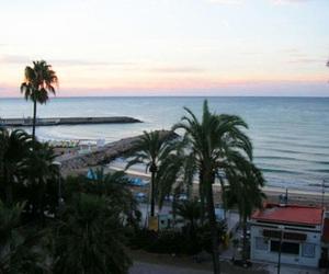 :), beach, and sunset image