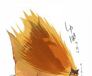 anime, fire, and charizar image