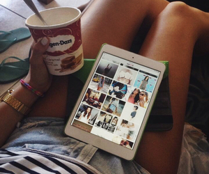 chill, fashion, and food image