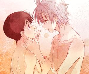 anime, ikari shinji, and evangelion image