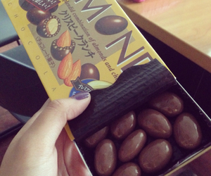 almonds, chocolates, and happiness image