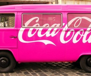 pink, coca cola, and car image